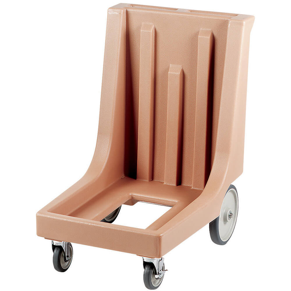 "Coffee Beige, 23-1/2"" x 32-7/8"" Dolly, Molded Handles, 350 Lb Capacity"