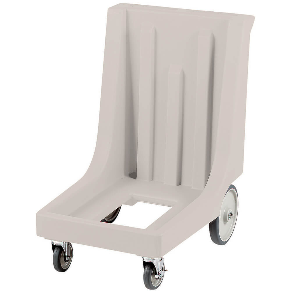 "Gray, 23-1/2"" x 29-7/8"" Dolly, Molded Handles, 350 Lb Capacity"