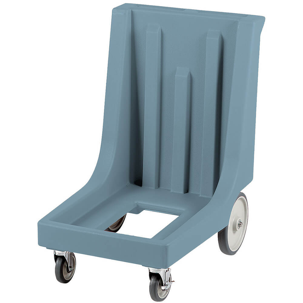 "Slate Blue, 23-1/2"" x 32-7/8"" Dolly, Molded Handles, 350 Lb Capacity"