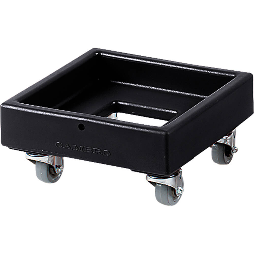 "Black, 16-1/8"" x 16-1/8"" Dolly, 250 Lb Capacity"