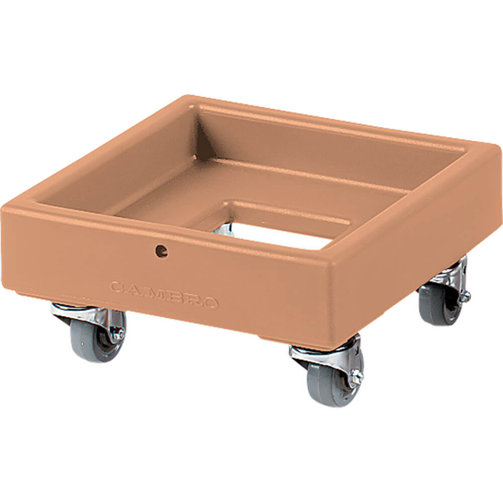 "Coffee Beige, 16-1/8"" x 16-1/8"" Dolly, 250 Lb Capacity"
