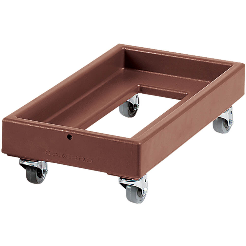 "Dark Brown, 16-1/8"" x 29-1/4"" Dolly, 300 Lb Capacity"