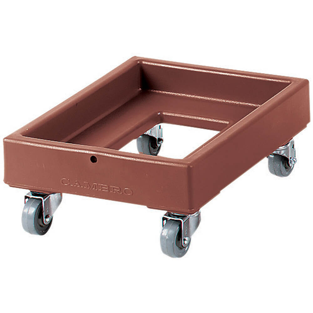 "Dark Brown, 16-3/8"" x 21-13/16"" Dolly, 350 Lb Capacity"