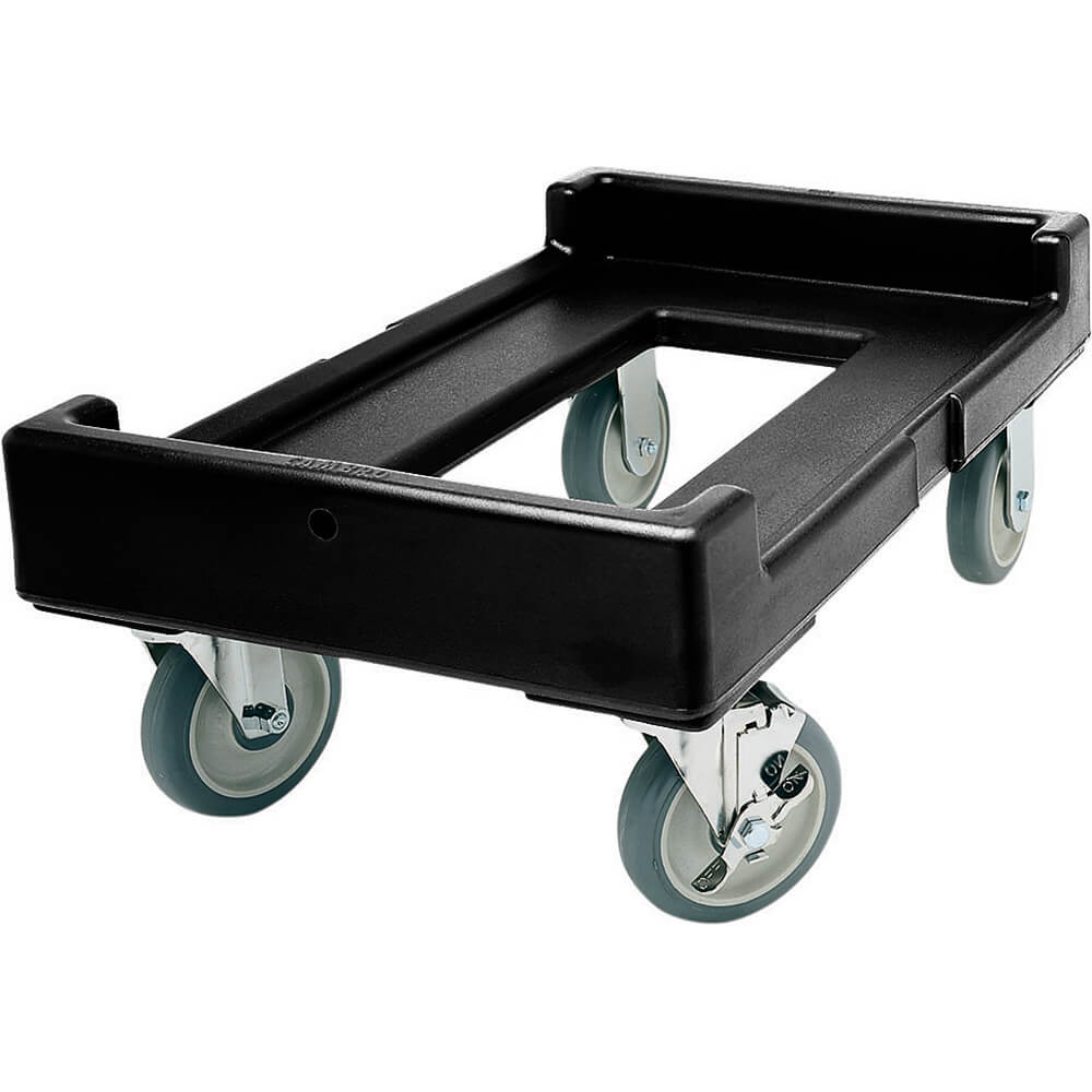 "Black, 16-7/16"" x 24-3/8"" Dolly, 300 Lb Capacity"