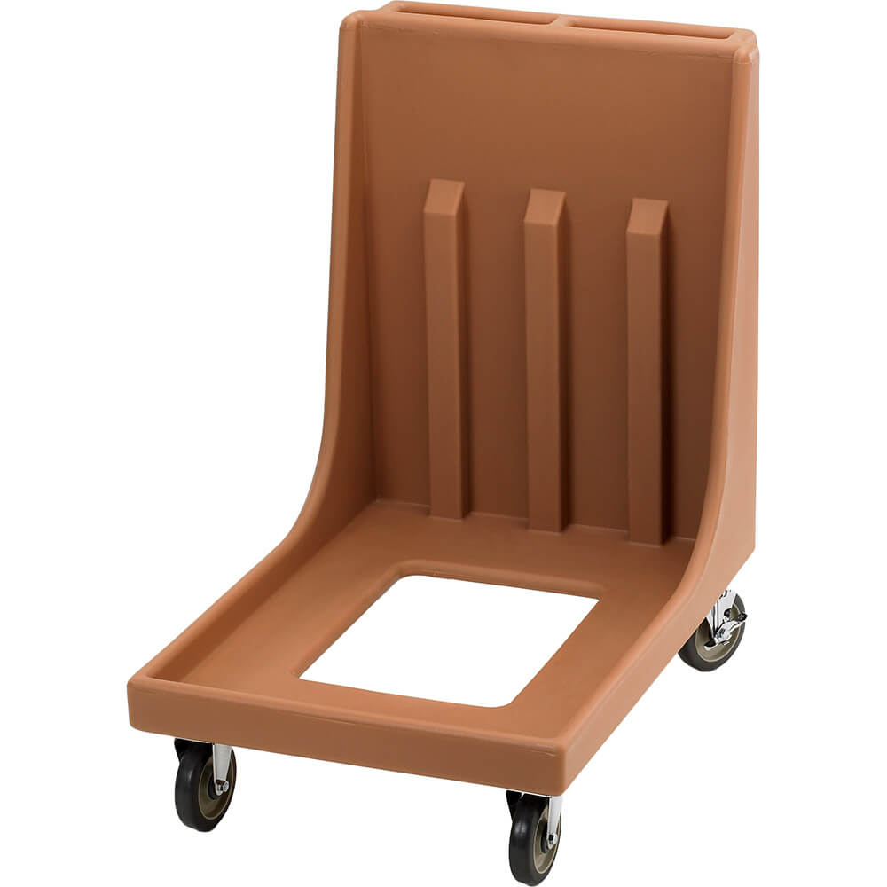 "Coffee Beige, 23-15/16"" x 35-1/8"" Dolly, Molded Handles, 350 Lb Capacity"