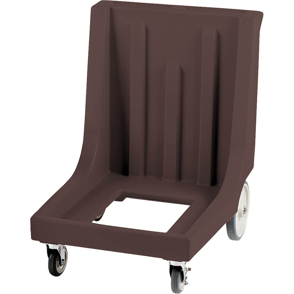 "Dark Brown, 27-1/2"" x 34-7/8"" Dolly, Molded Handles, 350 Lb Capacity"