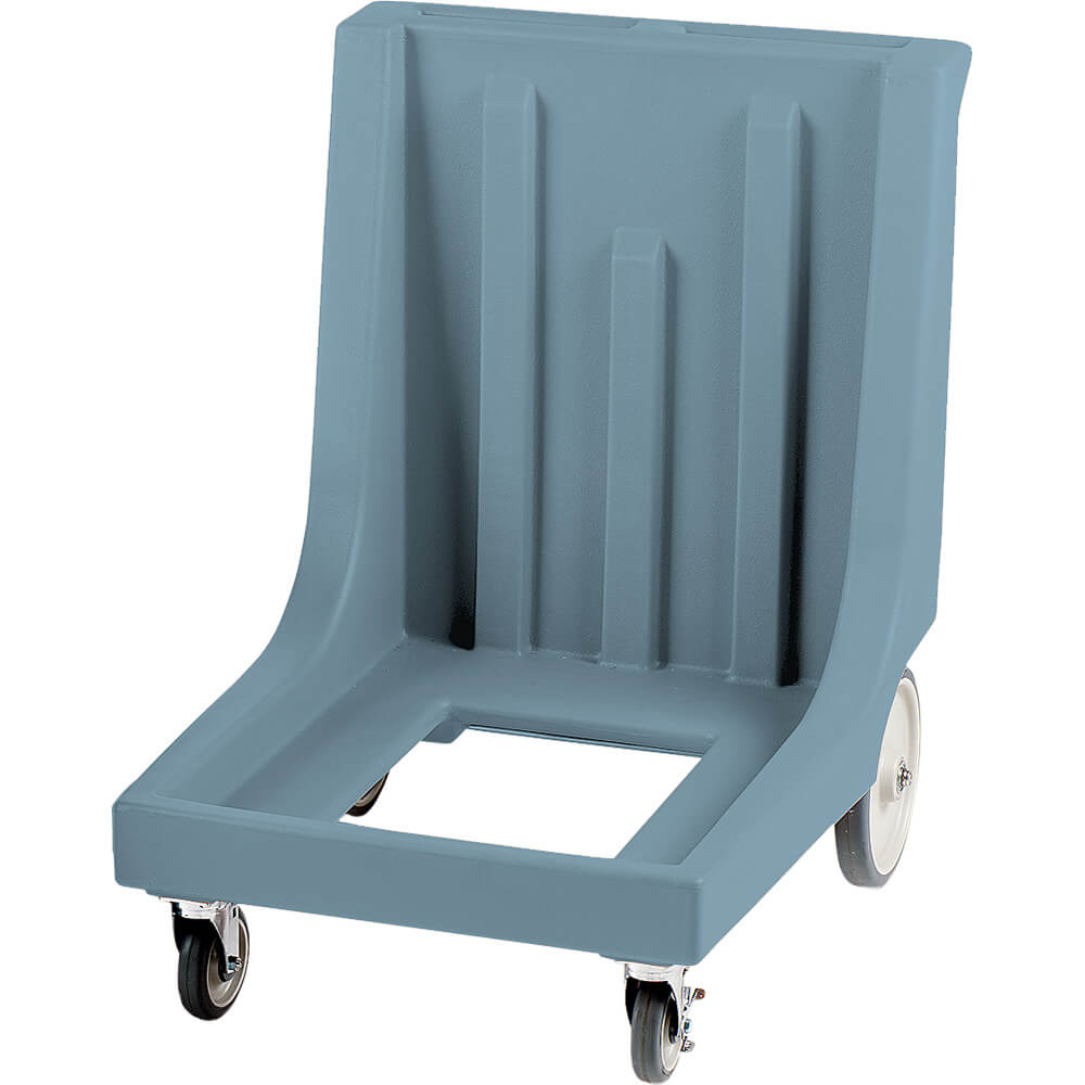 "Slate Blue, 27-1/2"" x 34-7/8"" Dolly, Molded Handles, 350 Lb Capacity"