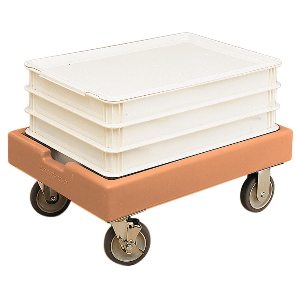 "Coffee Beige, 19-7/8"" x 27-7/8"" Dolly, 300 Lb Capacity"