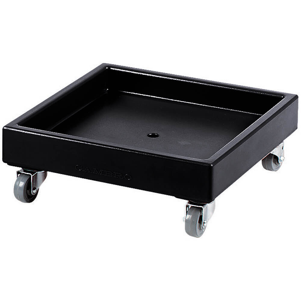 "Black, 22-1/2"" x 22-1/2"" Dolly, 300 Lb Capacity"
