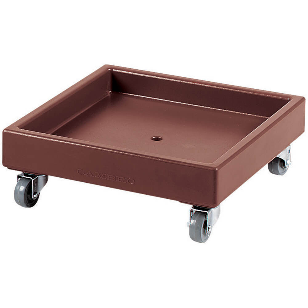 "Dark Brown, 22-1/2"" x 22-1/2"" Dolly, 300 Lb Capacity"