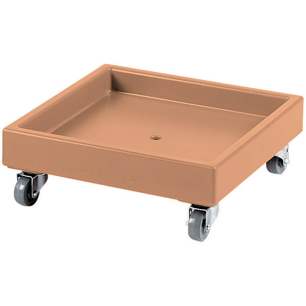 "Coffee Beige, 22-1/2"" x 22-1/2"" Dolly, 300 Lb Capacity"