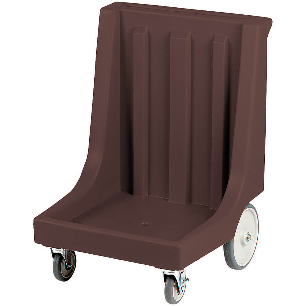 "Dark Brown, 26"" x 26-7/8"" Dolly, Molded Handles, 350 Lb Capacity"