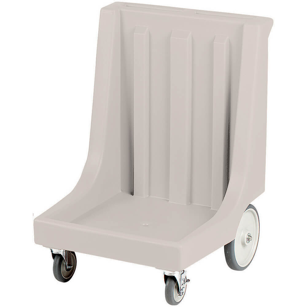 "Gray, 26"" x 26-7/8"" Dolly, Molded Handles, 350 Lb Capacity"