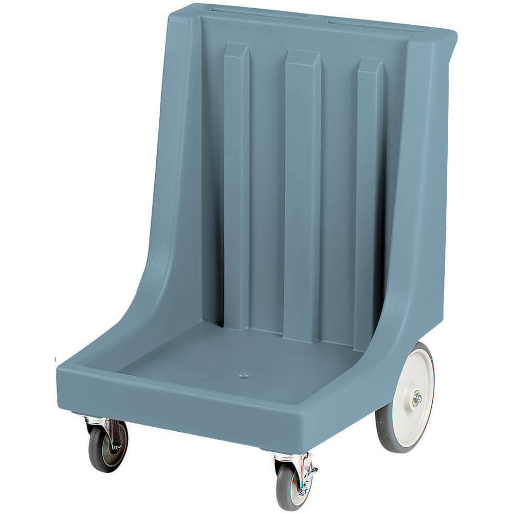 "Slate Blue, 26"" x 26-7/8"" Dolly, Molded Handles, 350 Lb Capacity"