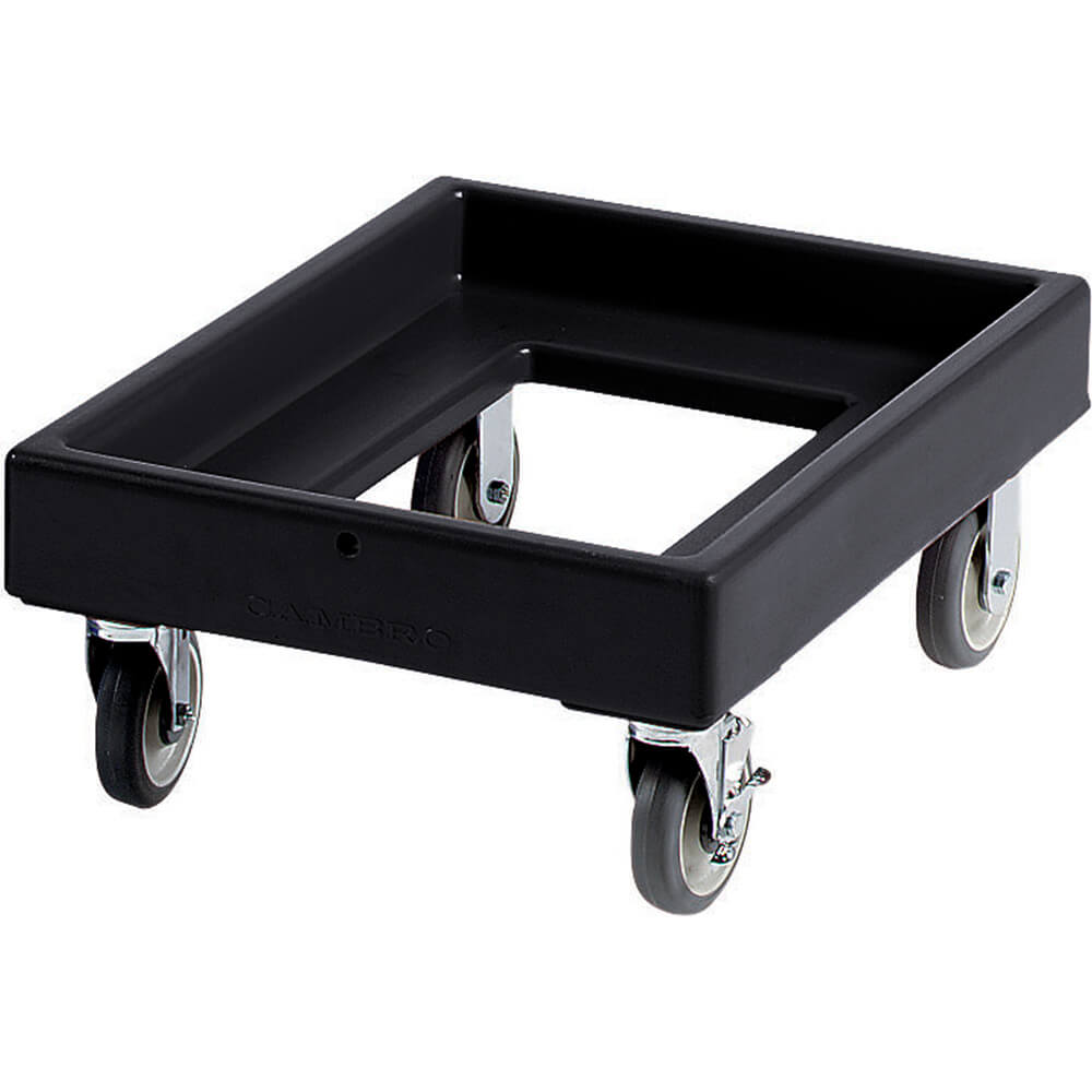 "Black, 19-3/8"" x 25-5/8"" Dolly, 300 Lb Capacity"
