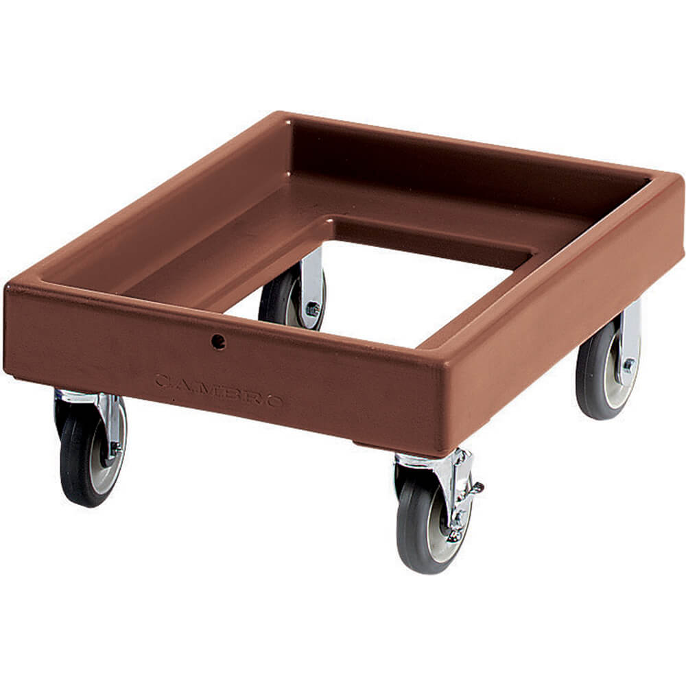 "Dark Brown, 19-3/8"" x 25-5/8"" Dolly, 300 Lb Capacity"