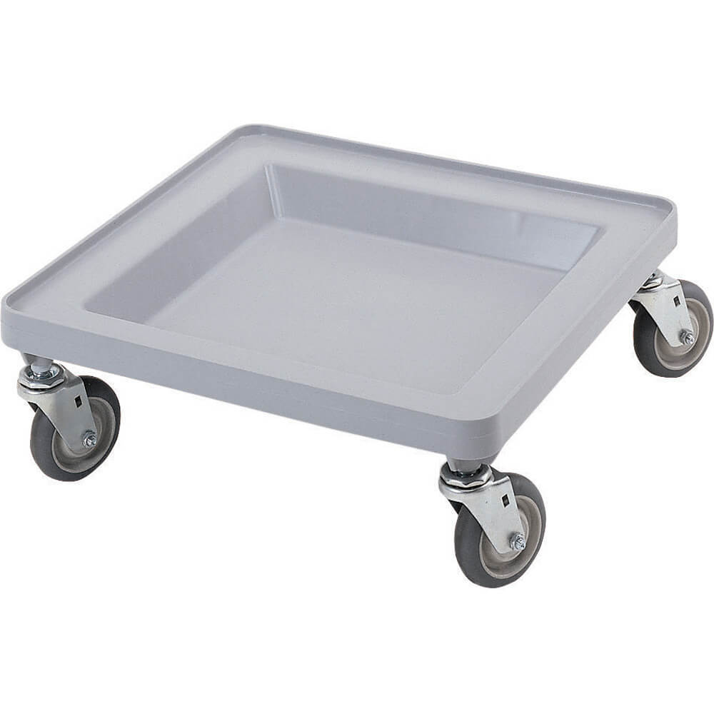 "Soft Gray, 21-3/8"" x 21-3/8"" Dolly, 350 Lb Capacity"