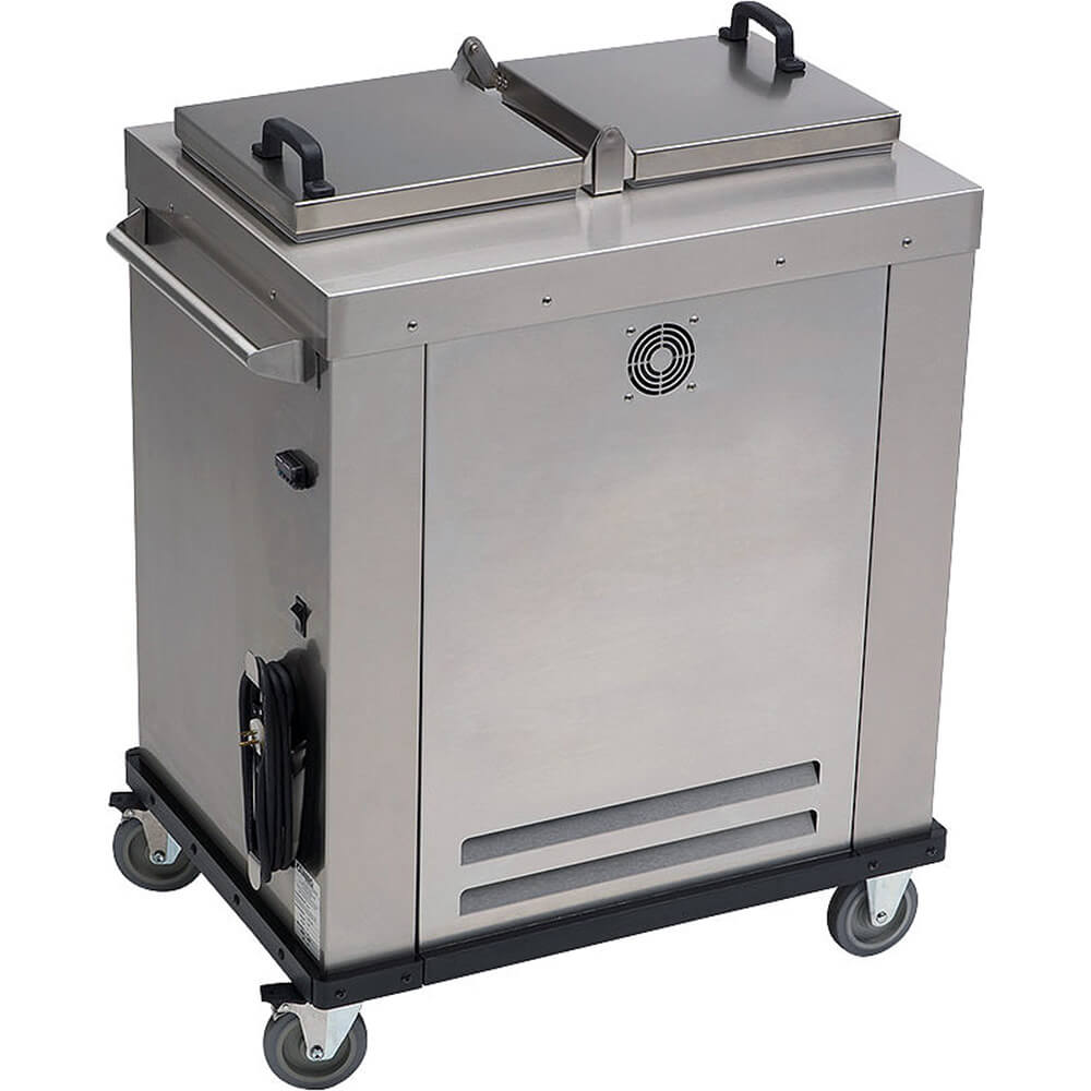 Stainless Steel, Camtherm Plate Heater, 100 Plates Cap.