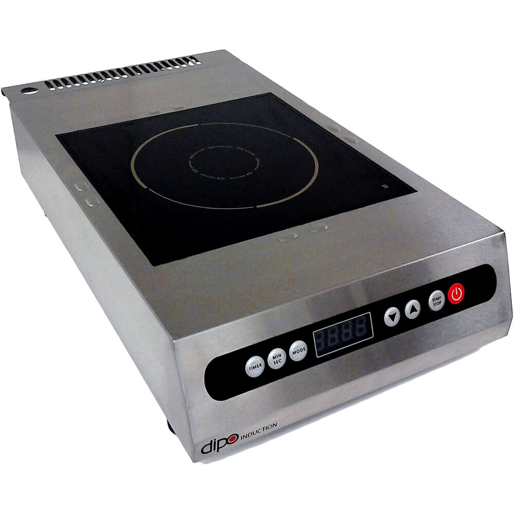 Stainless Steel, 1800W Portable Induction Cooktop