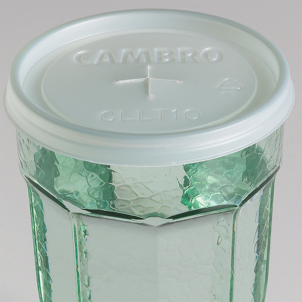 Translucent, Disposable Lid Fits 10 oz. Newport Tumbler, 1000/PK