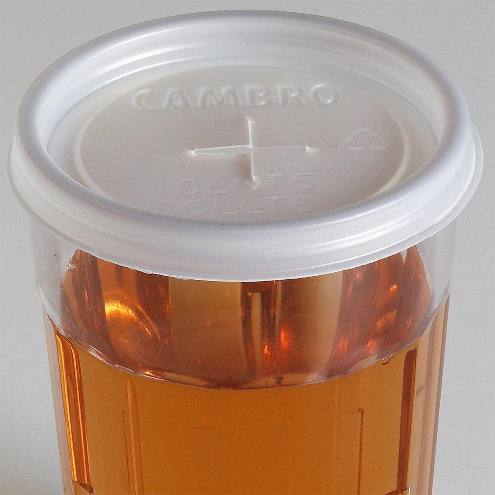 Translucent, Disposable Lid Fits 6.4 oz. Newport Tumbler, 1500/PK