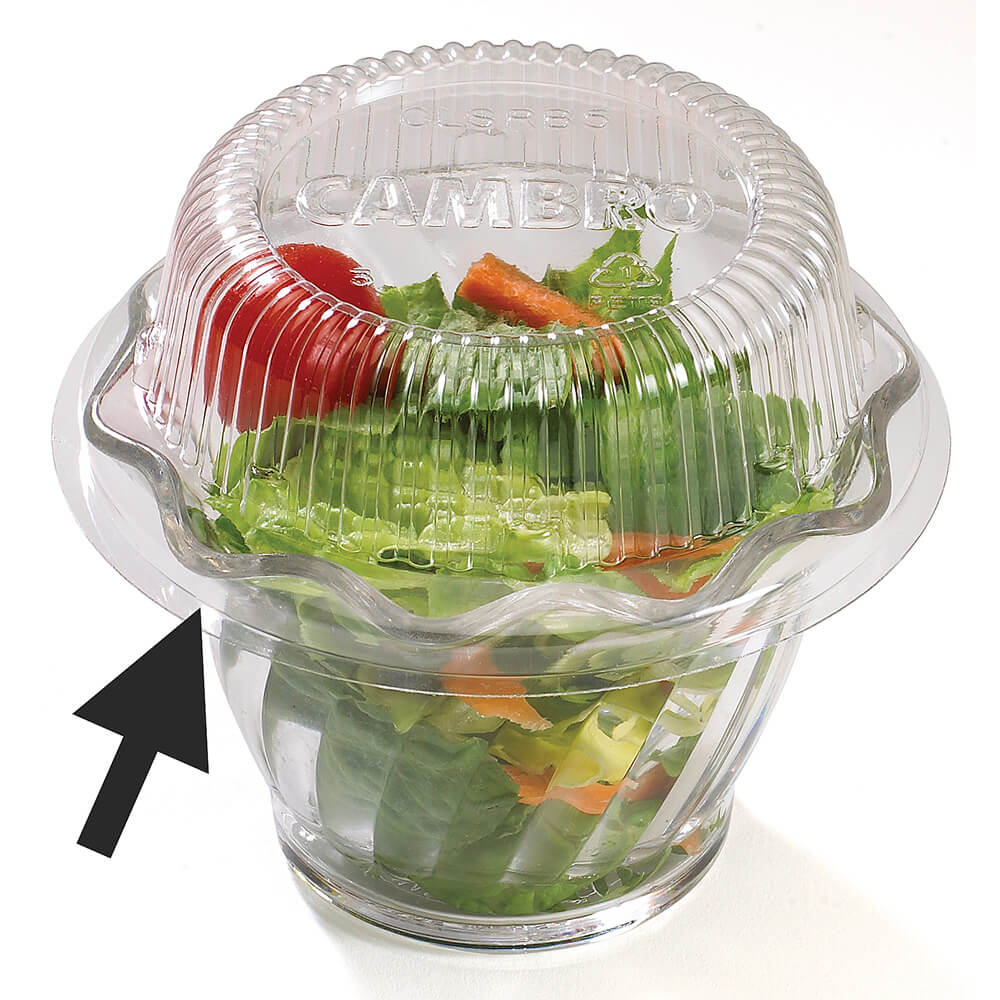 Disposable Lid for Swirl Bowl SRB5CW / SRB5, 1000/PK