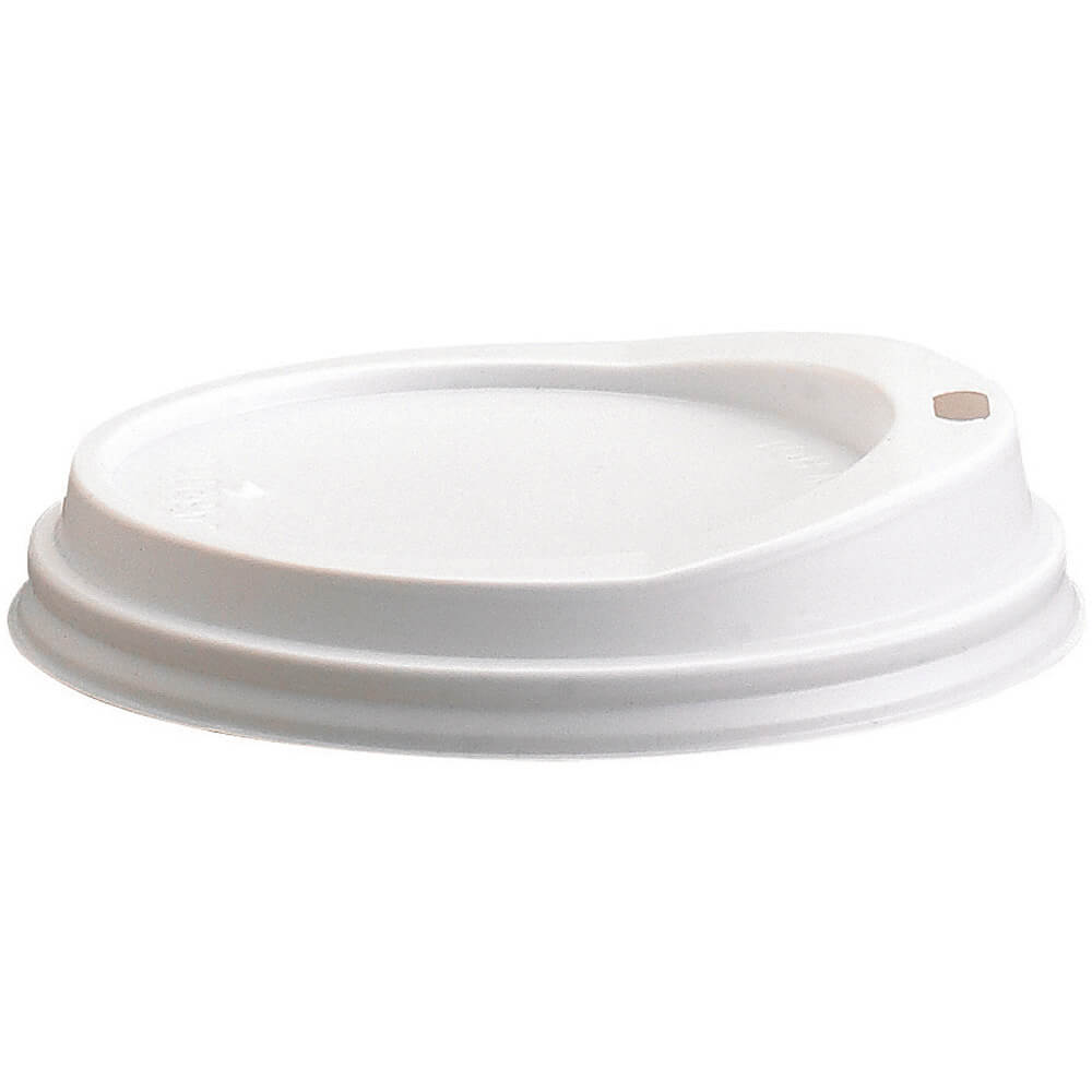 White, Disposable Sip Lids for Shoreline MDSB5, MDSM8 Bowls, 1000/PK