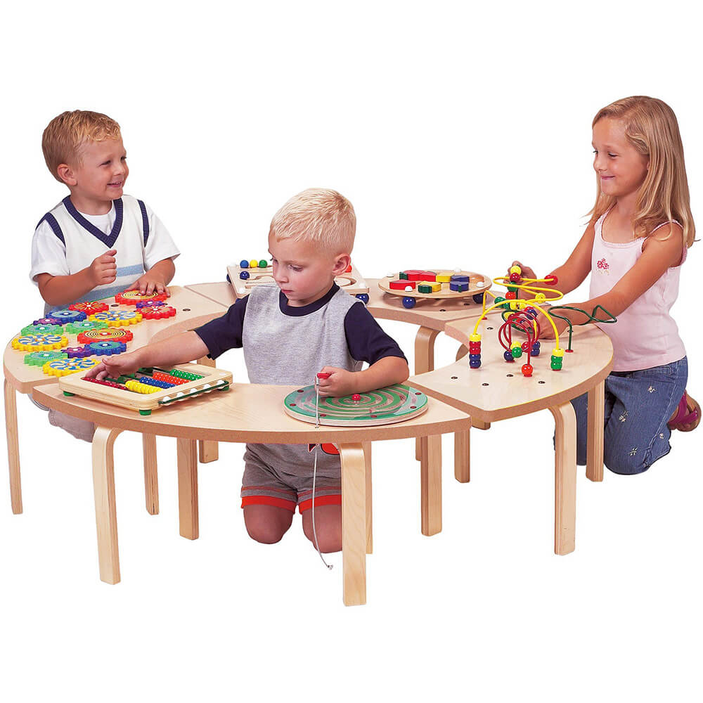 Circle of Fun, Four Puzzle Activity Table