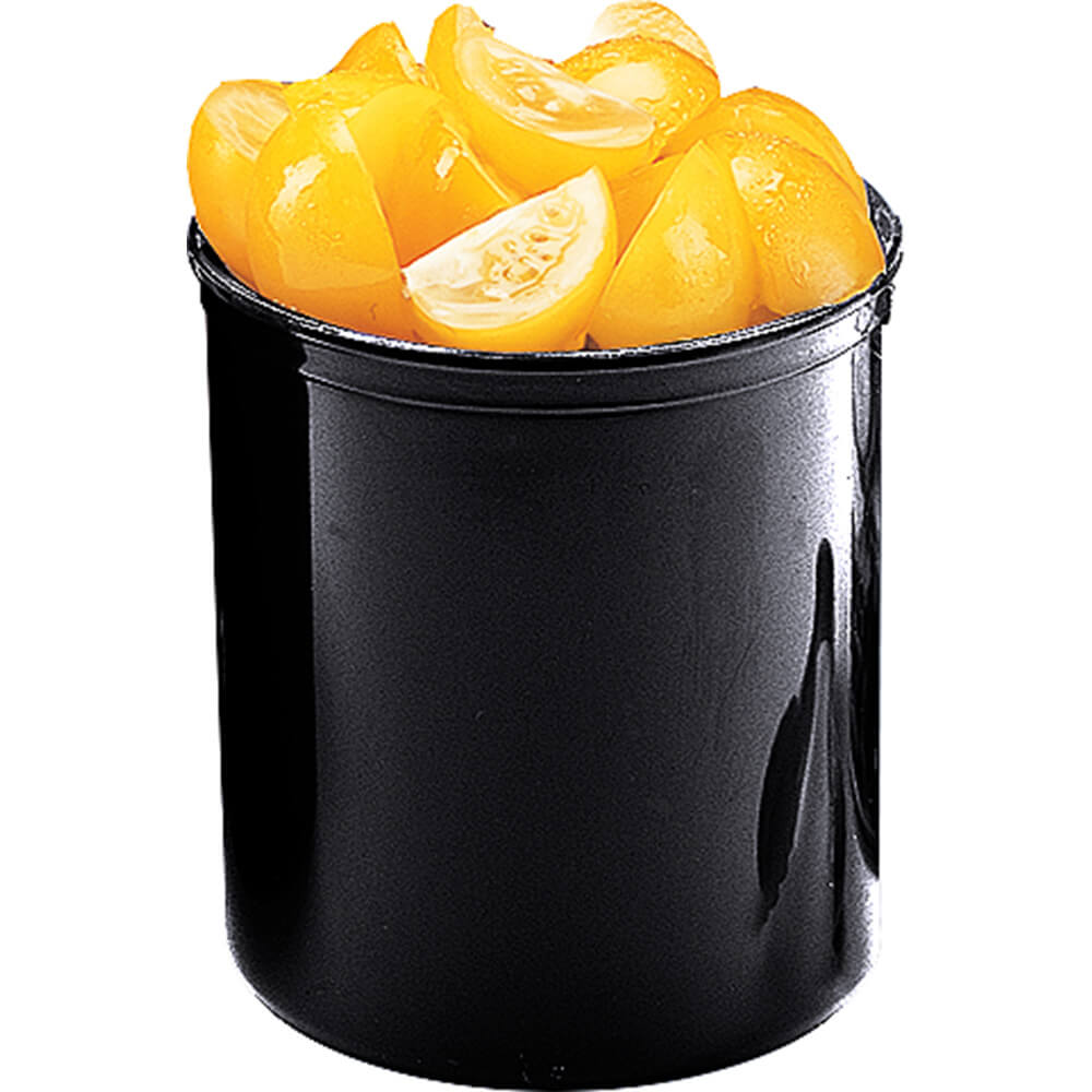 Black, 1.2 Qt. Crocks with Lid, 12/PK