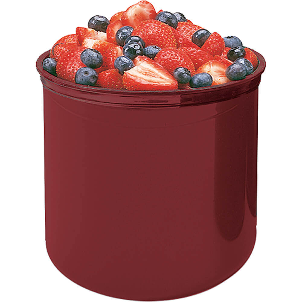 Cranberry, 2.7 Qt. Crocks with Lid, 6/PK