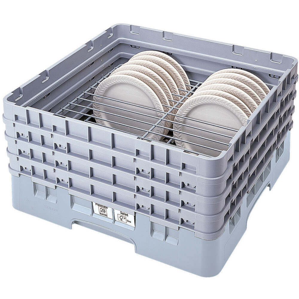 "Soft Gray, Full Size Dish Rack, 9 To 10-1/4"" Plates"