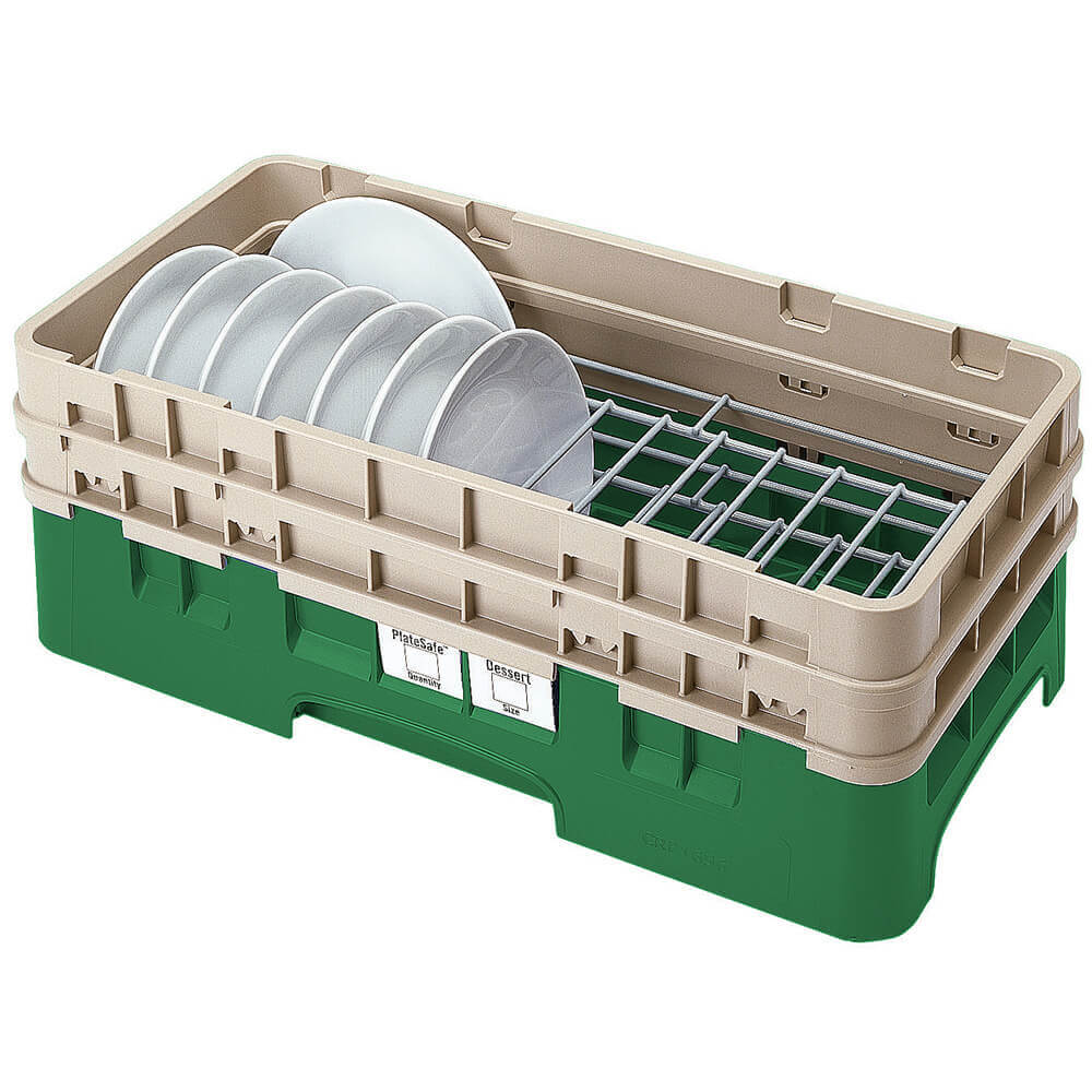 "Sherwood Green, Half Size Dish Rack, 5 To 6-7/8"" Plates"