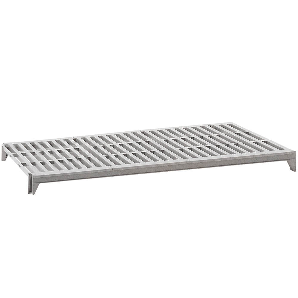 Speckled Gray, CamShelving Vented Shelf Plate Kit, 60 x 24