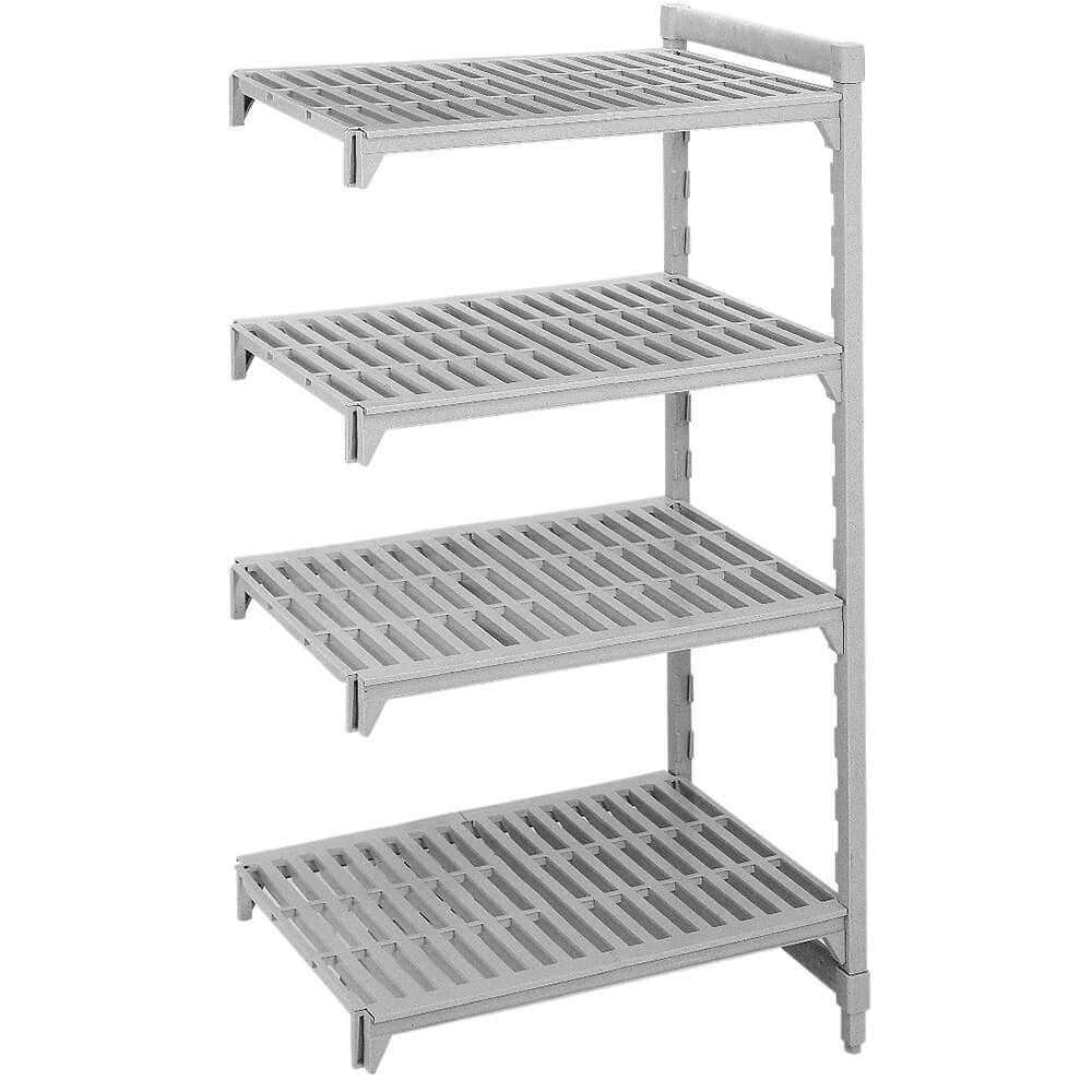 "Speckled Gray, Camshelving Add-on Unit, 36"" x 21"" x 64"", 4 Shelves"