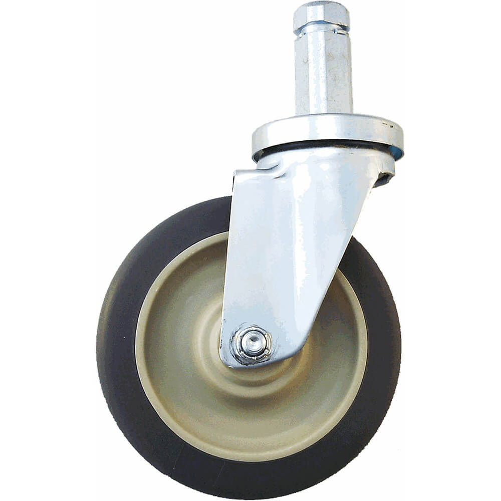 Shelving Swivel Caster, No Brake, Standard, 2/PK
