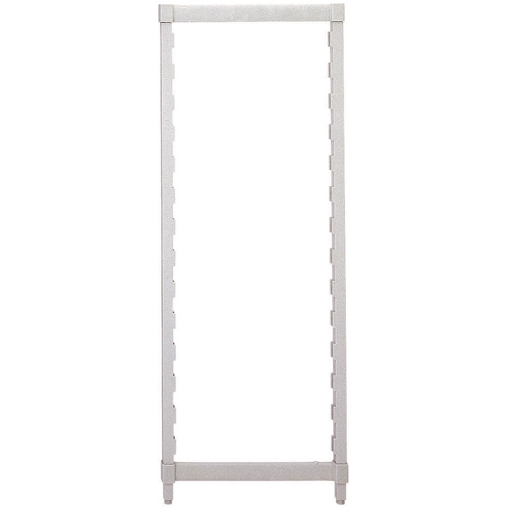 Speckled Gray, Camshelving Post Kit, 14 x 64, 1/PK