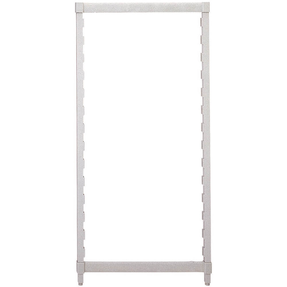 Speckled Gray, Camshelving Post Kit, 18 x 56, 1/PK