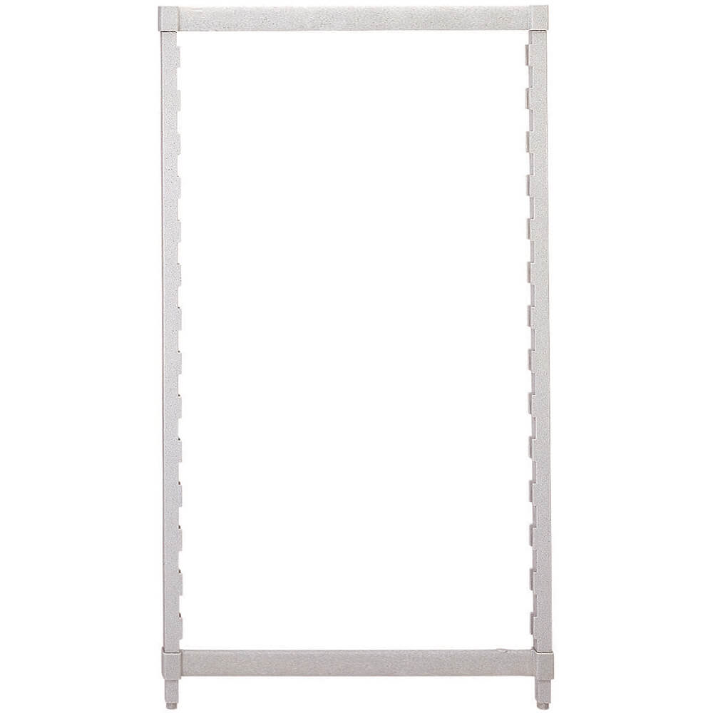 Speckled Gray, Camshelving Post Kit, 21 x 84, 1/PK