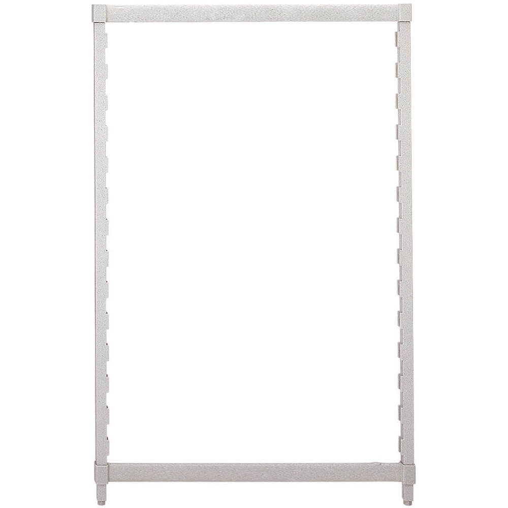 Speckled Gray, Camshelving Post Kit, 24 x 64, 1/PK