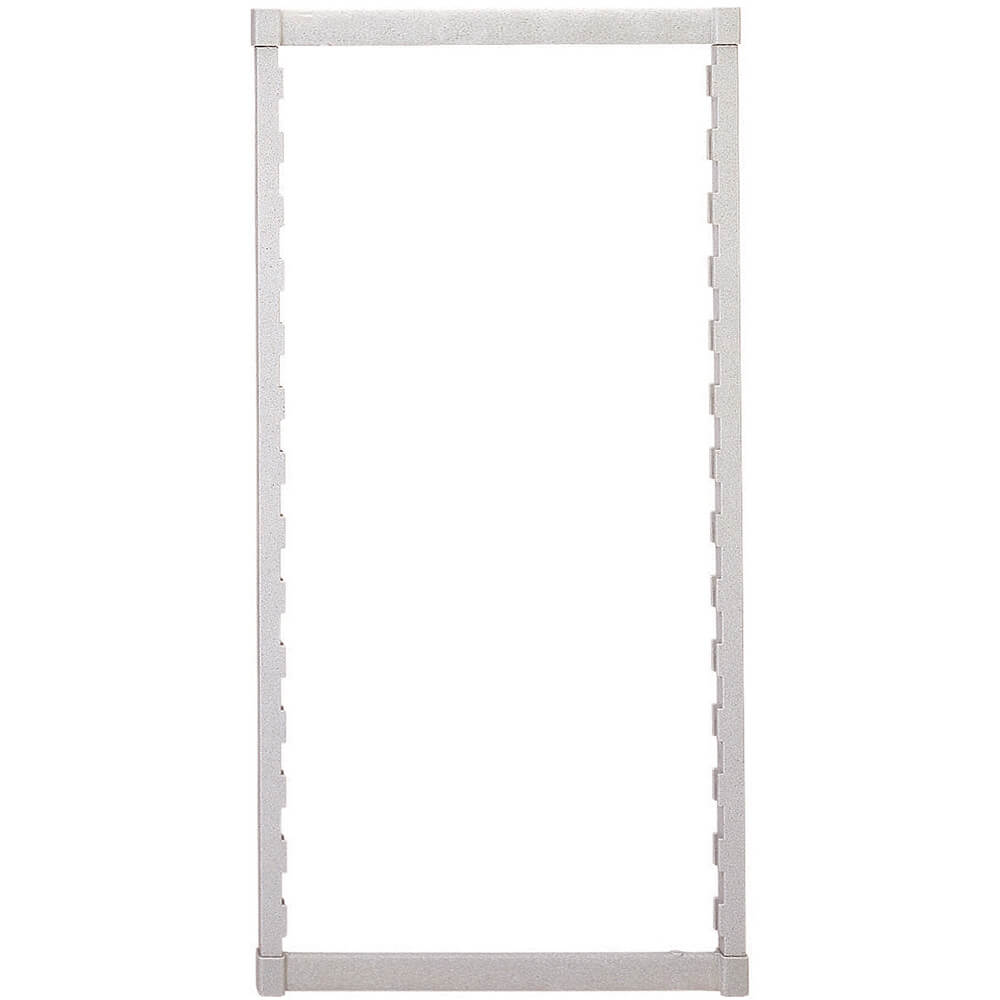 Speckled Gray, Camshelving Mobile Post Kit, 18 x 67, 1/PK