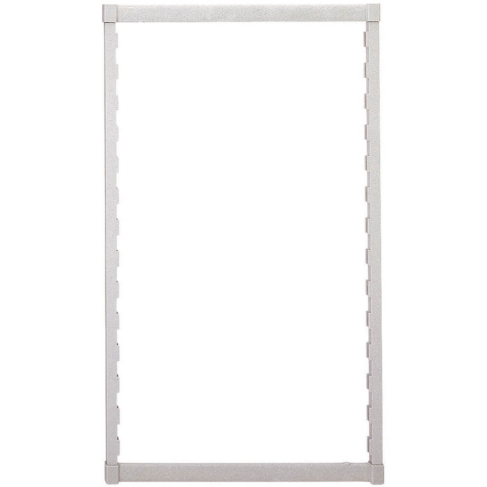 Speckled Gray, Camshelving Mobile Post Kit, 21 x 59, 1/PK
