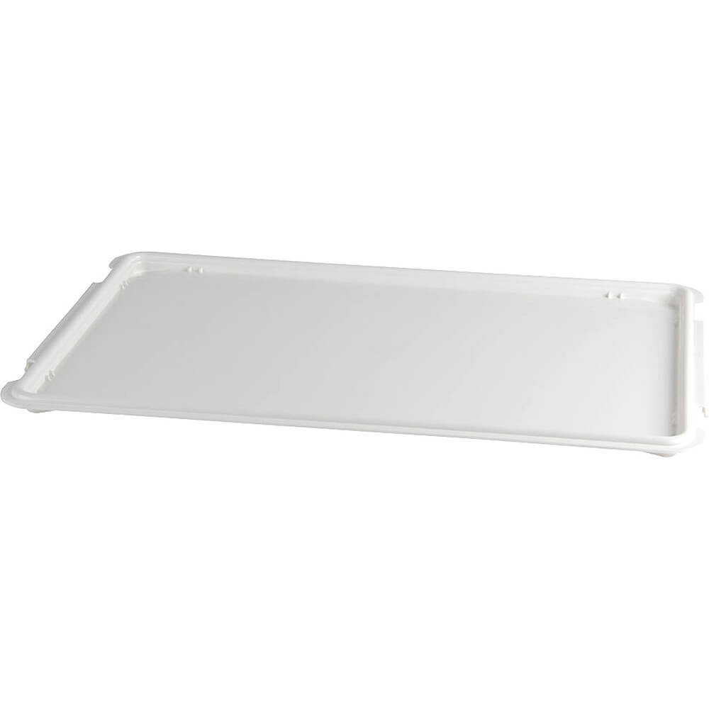 White, Lids for Polycarbonate Dough Boxes, 6/PK