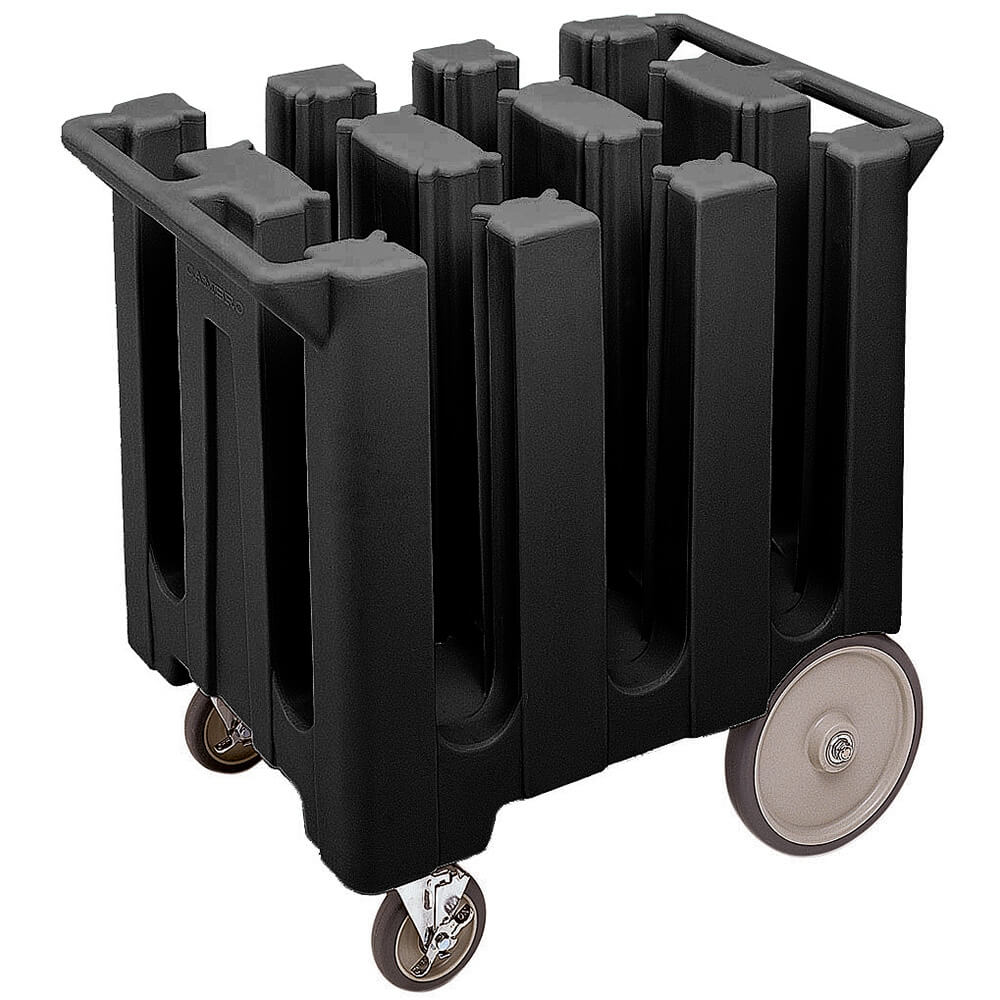 Black, Dish Caddy, Maximum Plate Size: 7""