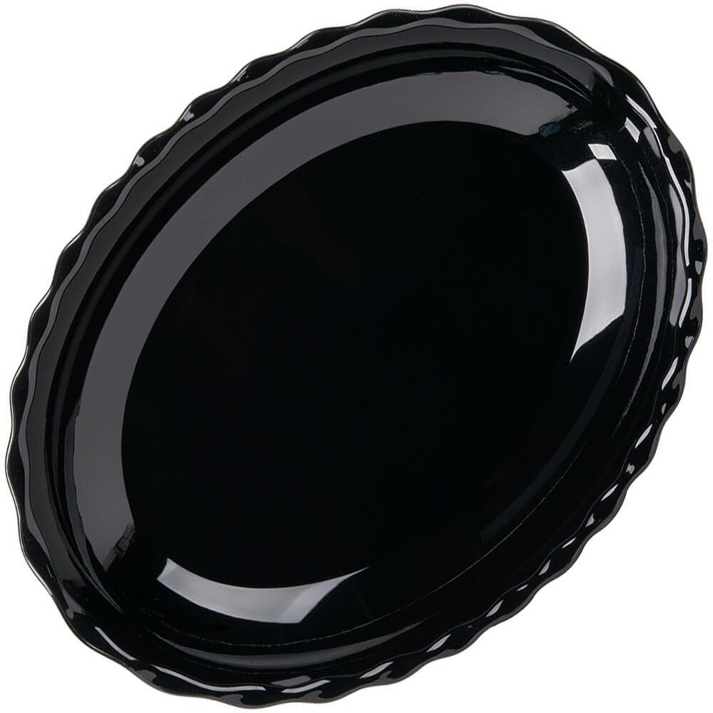 Black, Deli Platters, Oval, 6/PK View 2