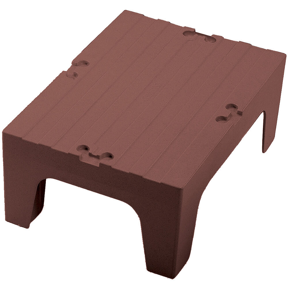 "Dark Brown, 30"" S-Series Dunnage Rack, Solid Top"