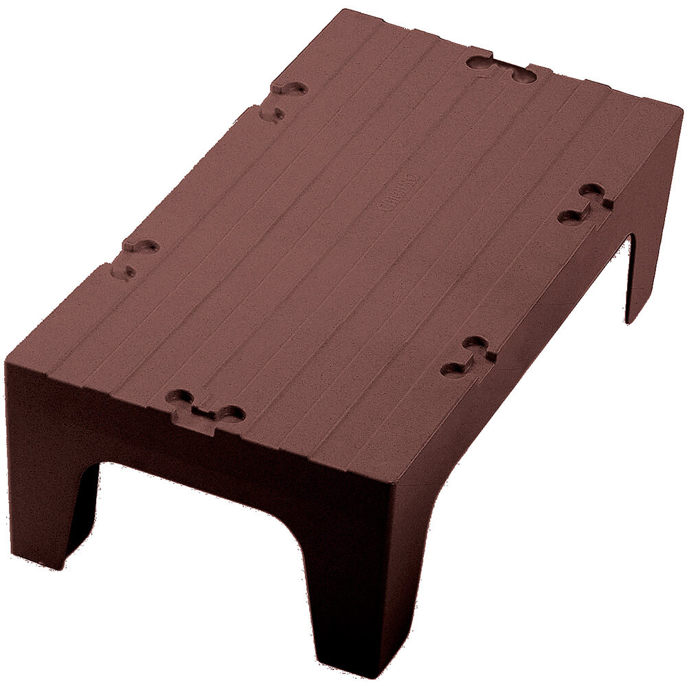 "Dark Brown, 36"" S-Series Dunnage Rack, Solid Top"