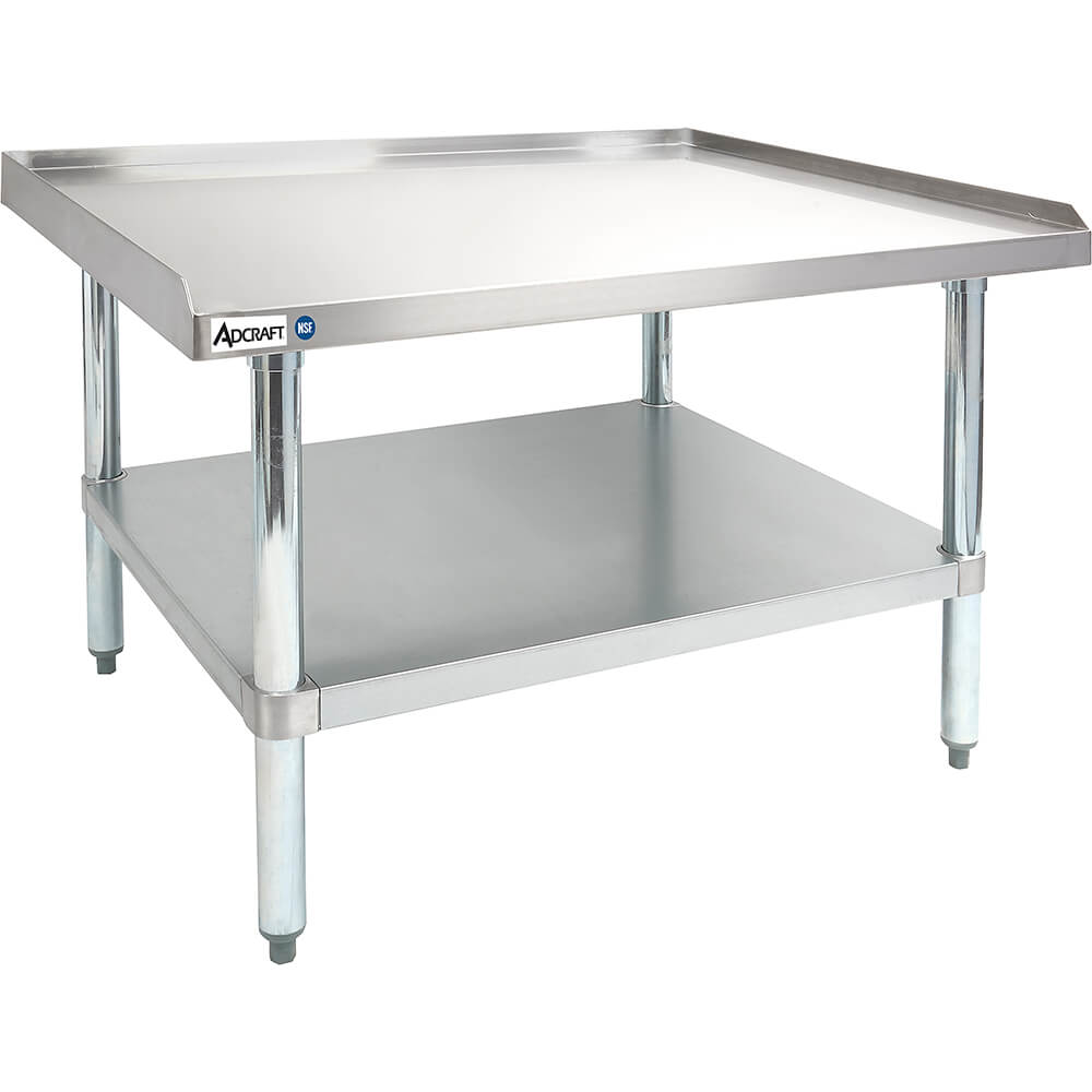 "Stainless Steel Kitchen Work Table / Prep Table, Adjustable Undershelf, 30"" X 36"" X 24"""