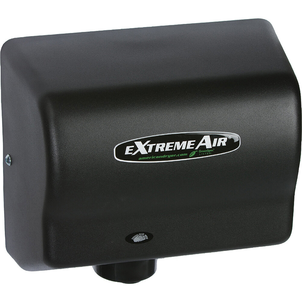 Black Graphite, ExtremeAir EXT Unheated Hand Dryer, 100-240V
