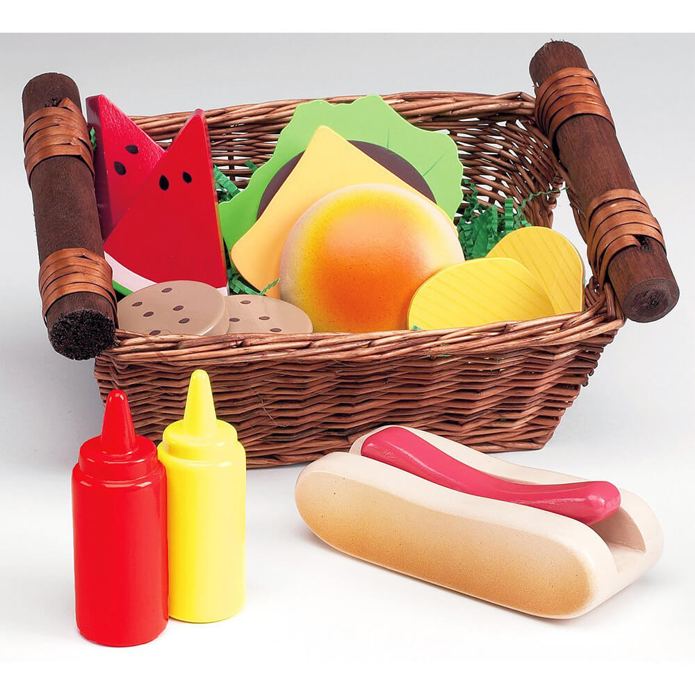 Kids Picnic Basket Toy