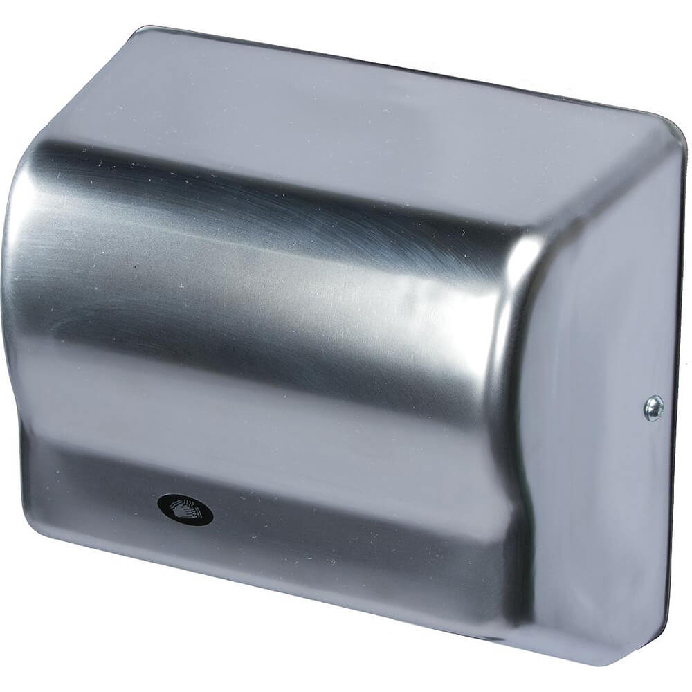 Steel Chrome, Automatic Hand Dryer, 120V